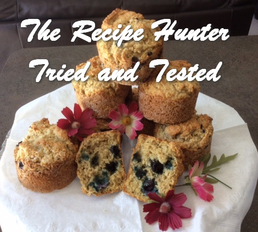 TRH Es_s Gluten Free Blueberry Oat Bran Muffins