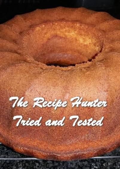 TRH Feriel Sonday's Orange Ring Cake