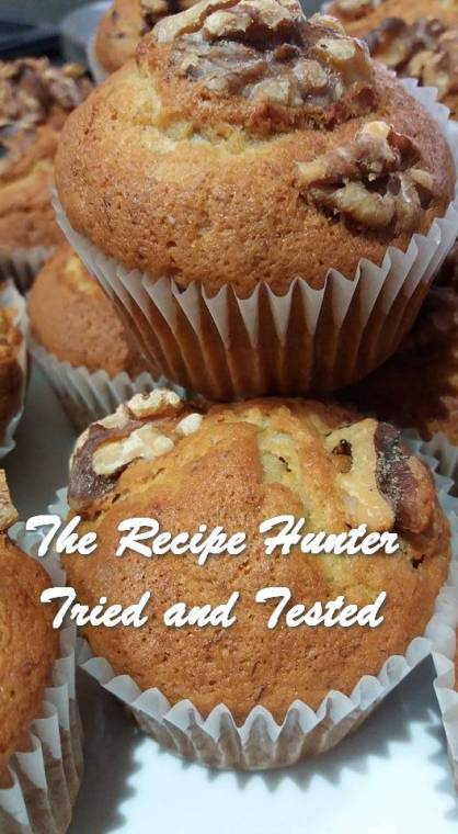 TRH Feriel's Banana Cupcakes with Walnuts
