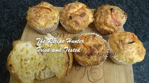 TRH Melanie's 4 Cheese and Spring Onion Muffin