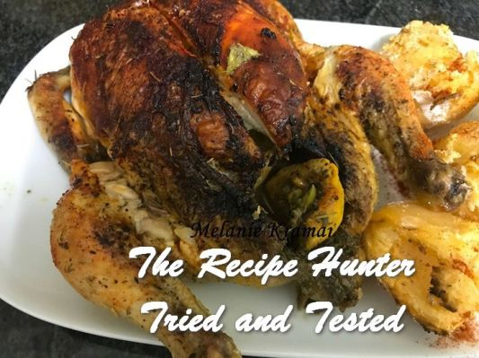 TRH Melanie's Air Fryer Lemon Roasted Chicken