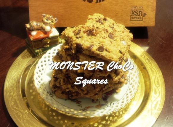 TRH MONSTER ChoCo Squares