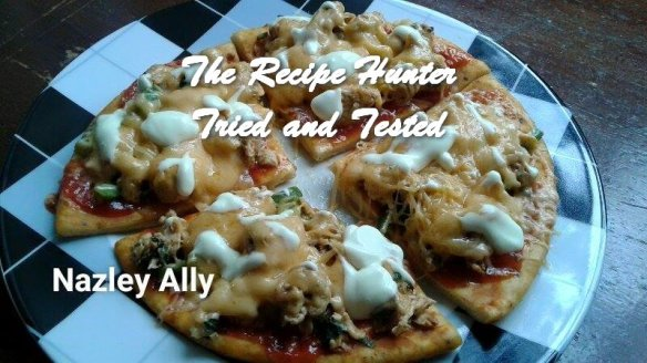 TRH Nazley's Chicken pizza