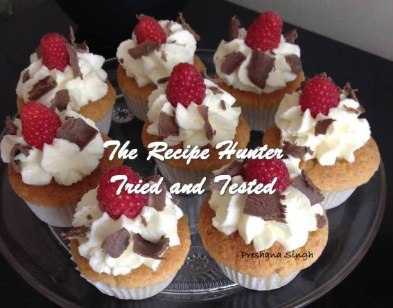 TRH Preshana's Cupcakes with fresh cream
