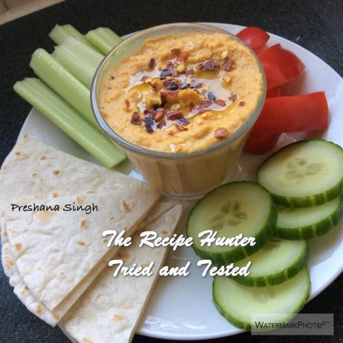 TRH Preshana's Roasted Carrot Hummus