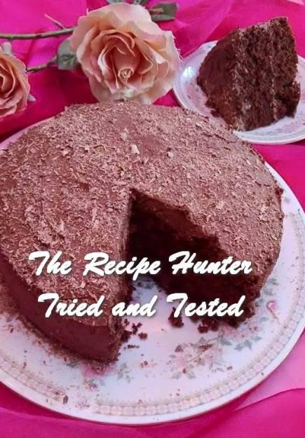 TRH Rashida's Simple Chocolate Oil Cake