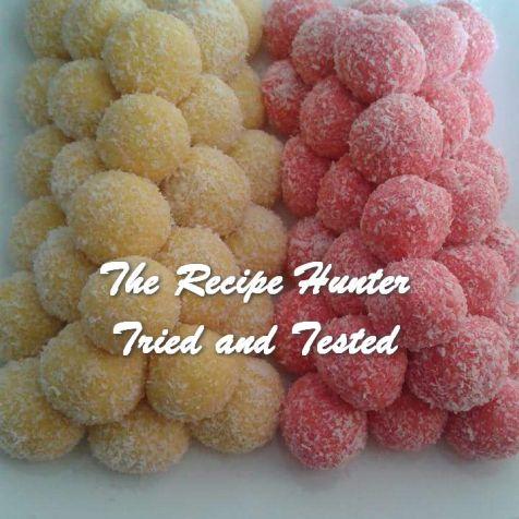 TRH Rashida's Snowballs - Coconut Balls
