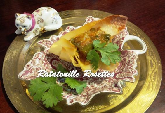 TRH Ratatouille Rosettes