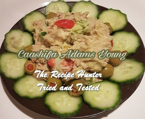 Caashifa's Breakfast Avo Tuna Salad