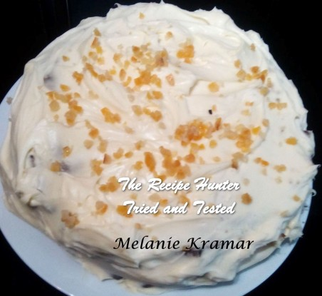 Melanie_s Carrot Cake with Ginger (Citrus Peel) Mascarpone Frosting