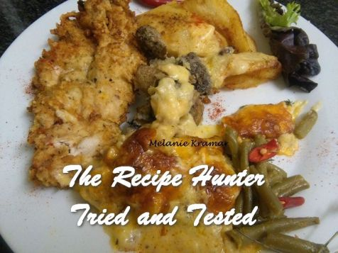 Melanie's Deep Fried Parmesan Chicken Breast