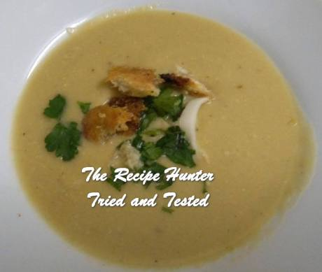 Melanie's Potato Leek and Blue Cheese Soup