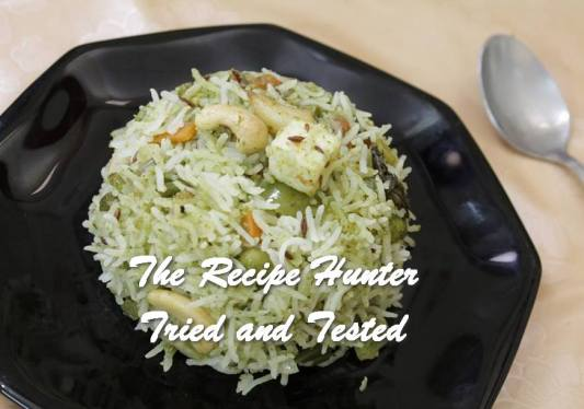 Sneha's Burnt Garlic Creamy Mint Rice