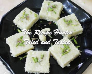 Sneha's Milk cheese Coconut Fudge