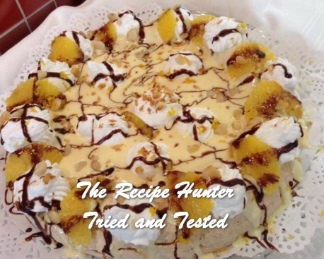 TRH Gail's Orange Mousse Pavlova