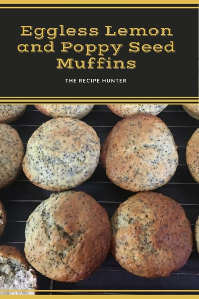 Bobby's Eggless Lemon and Poppy Seed Muffins