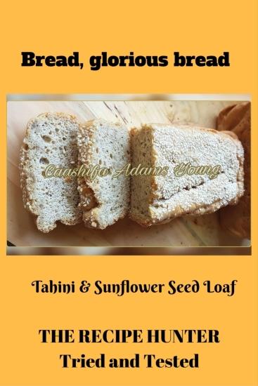 Caashifa's Tahini & Sunflower Seed Loaf