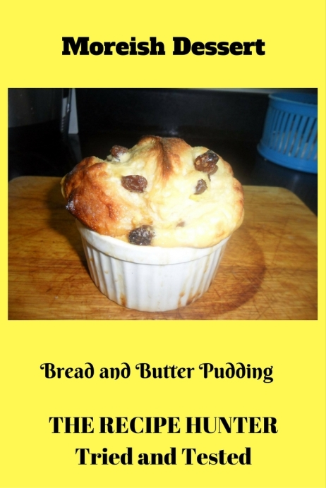Carol's Bread and Butter Pudding