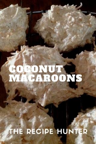 Carol's Coconut Macaroons