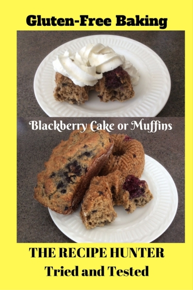 Es's GF Blackberry Muffins