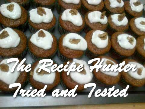 Feriel's Moist Carrot Cupcakes with Cream Cheese