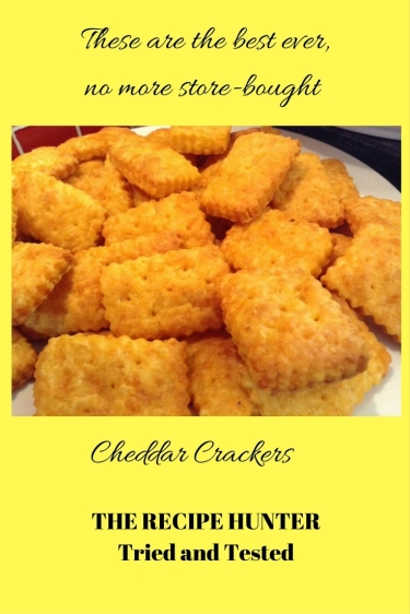 Gail's Cheddar Crackers