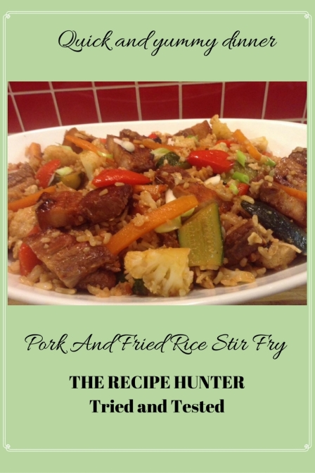 Gail's Pork And Fried Rice Stir Fry