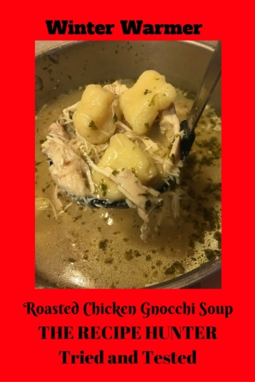 Luci's Roasted Chicken Gnocchi Soup