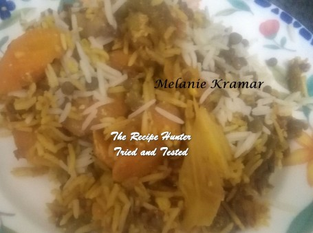 Melanie's Tossed Vegetable Biryani