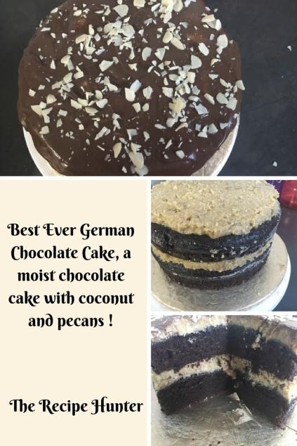 Bobby's German chocolate cake