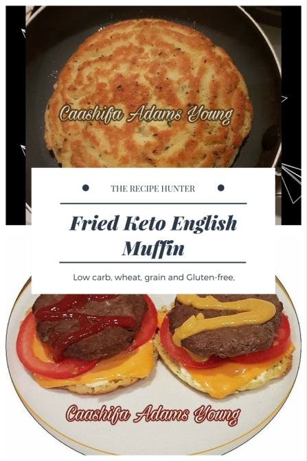 Fried Keto English Muffin