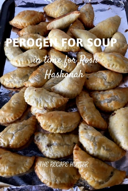 Hannah's Perogen for soup in time for Rosh Hashanah