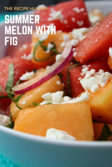 melon with fig