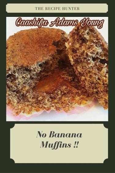 No Banana Muffins