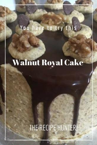 Walnut Royal Cake