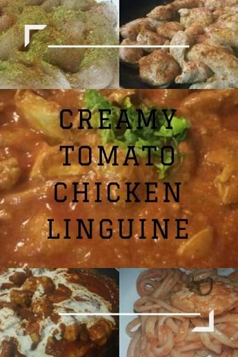 Zarina's Creamy Tomato Chicken Linguine