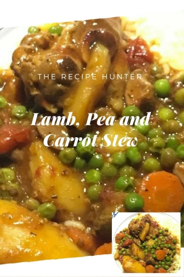 Lamb, Pea and Carrot Stew1