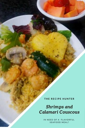 Shrimps and Calamari Couscous