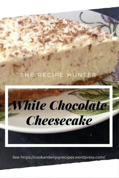 White Chocolate Cheesecake