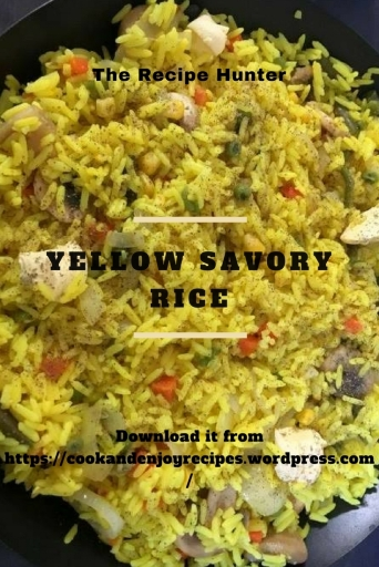 Yellow Savory Rice