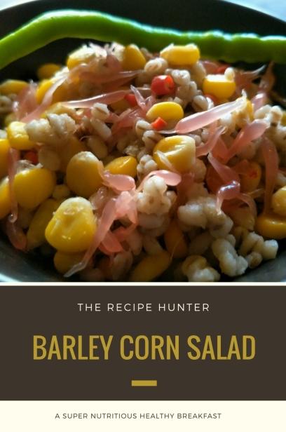 Barley Corn Salad