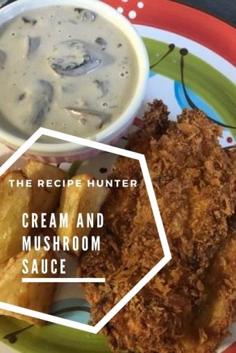 Cheese and Mushroom Sauce