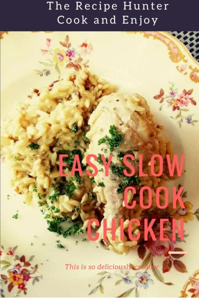 Easy Slow Cook Chicken