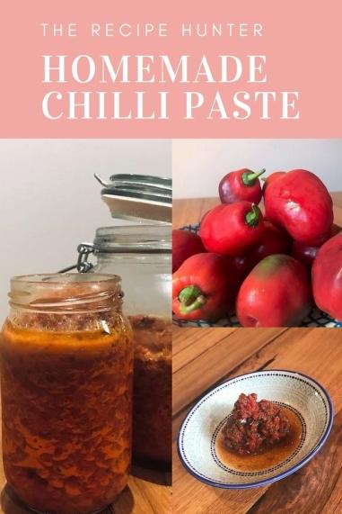 Homemade Chilli Paste