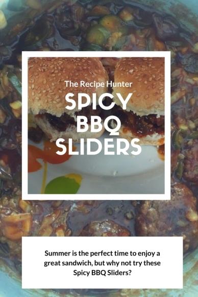 Spicy BBQ Sliders