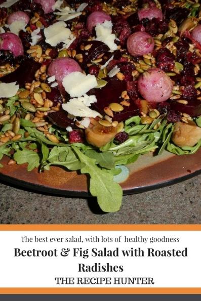 Beetroot & Fig Salad with Roasted Radishes