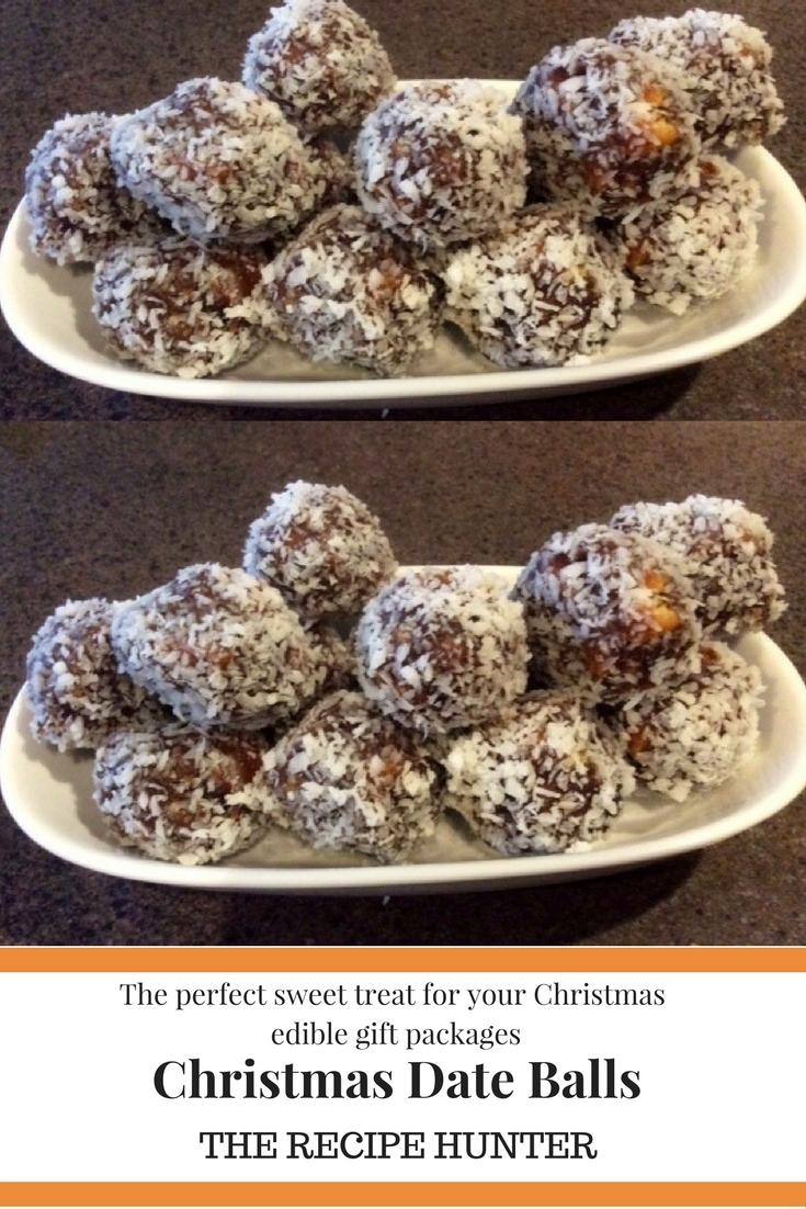 Christmas Date Balls