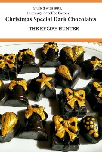 Christmas Special Dark Chocolates