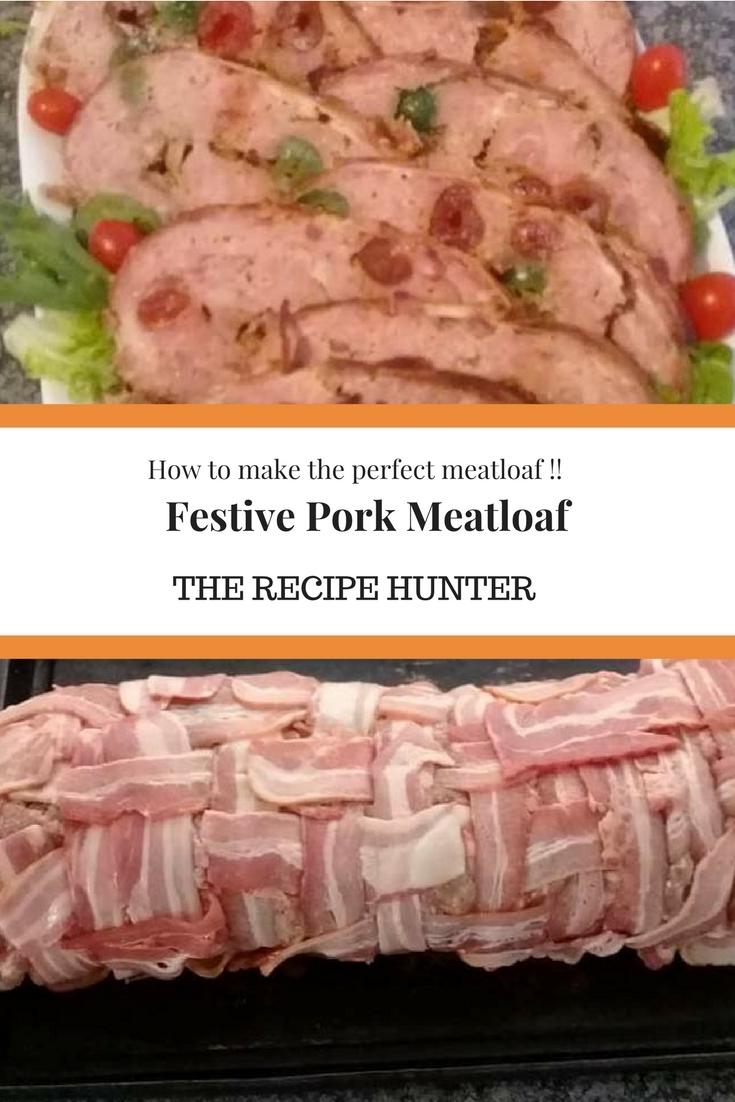 Festive Pork Meatloaf
