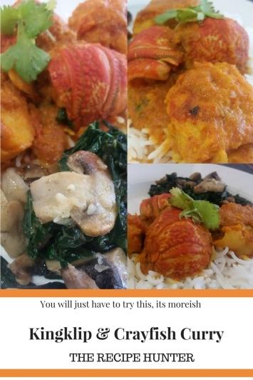 Kingklip & Crayfish Curry
